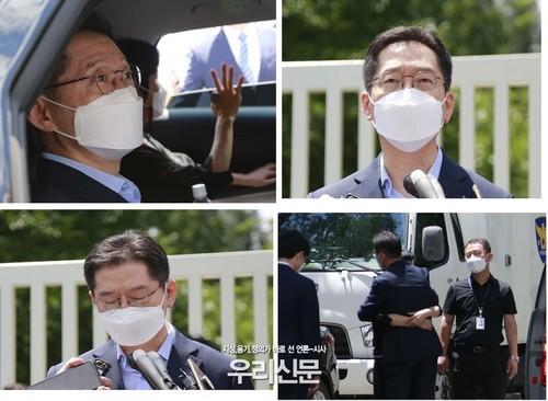 """김경수 마산교도소 입감, """"진실은 바뀔수 없다"""" 법원 판결 불신"""